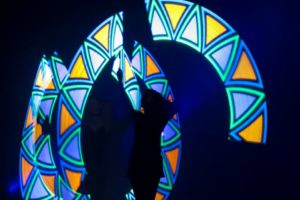Choreographed LED Glow Shows with logo reveals