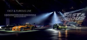 Read about the LED cars made by Feeding the Fish at Fast and Furious Live